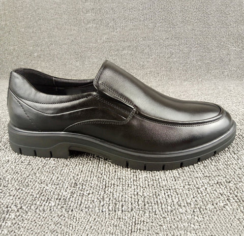 Men's Classic Genuine Leather Dress Shoes Slip-On Loafer