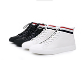 High Top Classic Genuine Leather Shoes Walking Casual Lace Up Sneaker