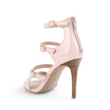 Open Toe Sandals  10CM High Heels, Genuine Leather