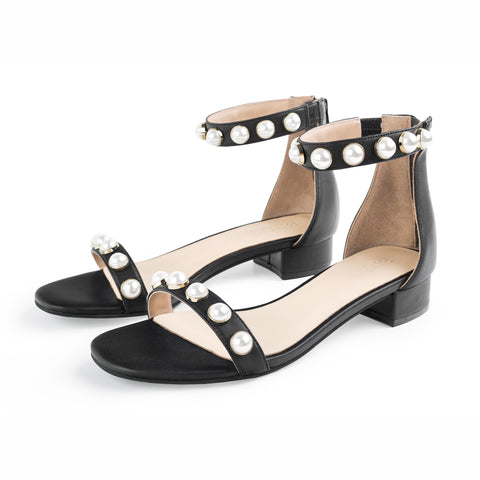 Open Toe Sandals 3CM Low Heels