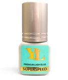 SUPERSPEED Glue for pinching / handmaking Fans -0.5 second Fast Dry /Fans Instantly Shaped NO Shrink -- 5ml BLACK