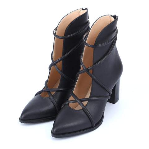 Ladies Ankle Boots High Heels