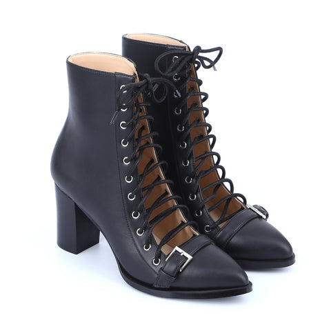Lacing Ankle Boots