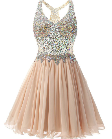CRYSTAL Short Gown