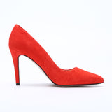 Suede Leather 10CM High Heels Women Party Wedding Pumps