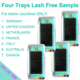Four Trays Lash Free Sample-  - First time Buyer ONLY