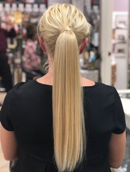 Customized Ponytail hair extensions