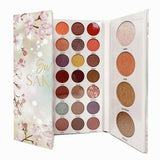 Beauty Treats Sweet SAKURA 35 Eyeshadow, 4 Highlighter, 4 Bronzer Palette