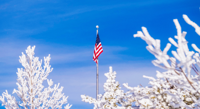 Flag Pole Maintenance in the Cold Weather: 4 Things You Need to Know