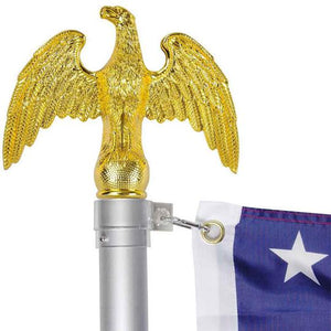 Gold Eagle Finial Top