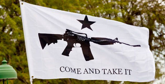 Come And Take It Flag - Rifle