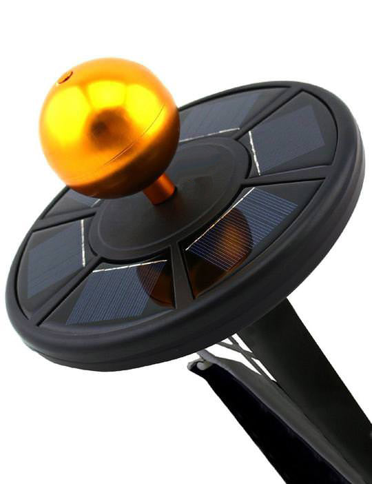 Solar Flag Pole Light