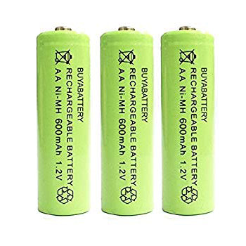 Replacement Rechargeable Batteries (3 Pack) - Solar Light