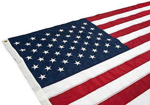 HUGE 4x6 Embroidered USA Flag