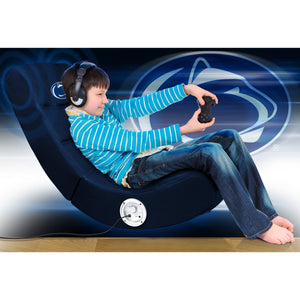 Penn State Bluetooth Rocker Gaming Chair - Racer Gaming Chairs