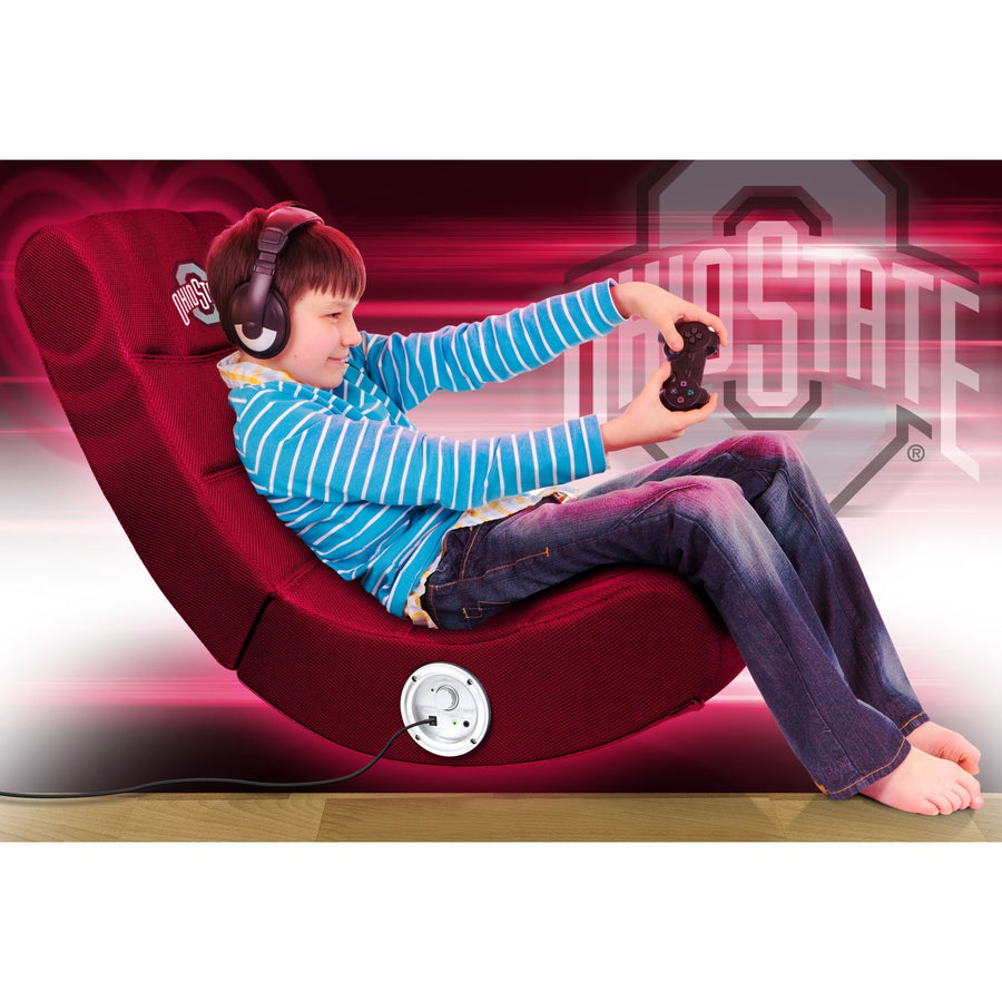 Ohio State Bluetooth Rocker Gaming Chair - Racer Gaming Chairs