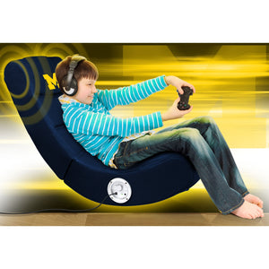 University of Michigan Bluetooth Rocker Gaming Chair - Racer Gaming Chairs