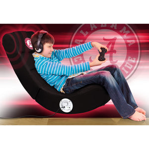 University of Alabama Bluetooth Rocker Gaming Chair - Racer Gaming Chairs