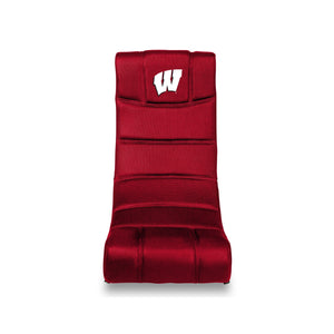 University of Wisconsin Bluetooth Rocker Gaming Chair - Racer Gaming Chairs