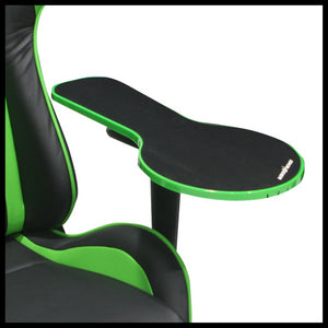 DXRacer AR/02A/E Green/Black Armrest Mousepad - Racer Gaming Chairs