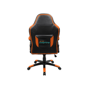 Miami Dolphins Oversized Licensed Gaming Chair - Racer Gaming Chairs