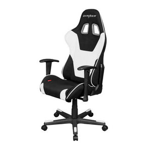 DXRacer OH/FD101/NW Black/White Formula Series Gaming Chair - Racer Gaming Chairs