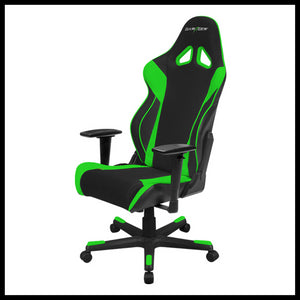 DXRacer OH/RW106/NE Black/Green Racing Series Gaming Chair - Racer Gaming Chairs