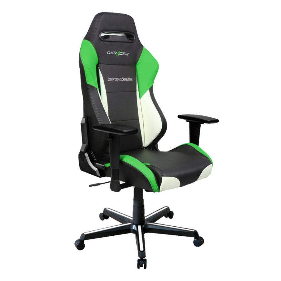 DXRacer OH/DM61/NWE Black/Green Drifting Series Gaming Chair - Racer Gaming Chairs
