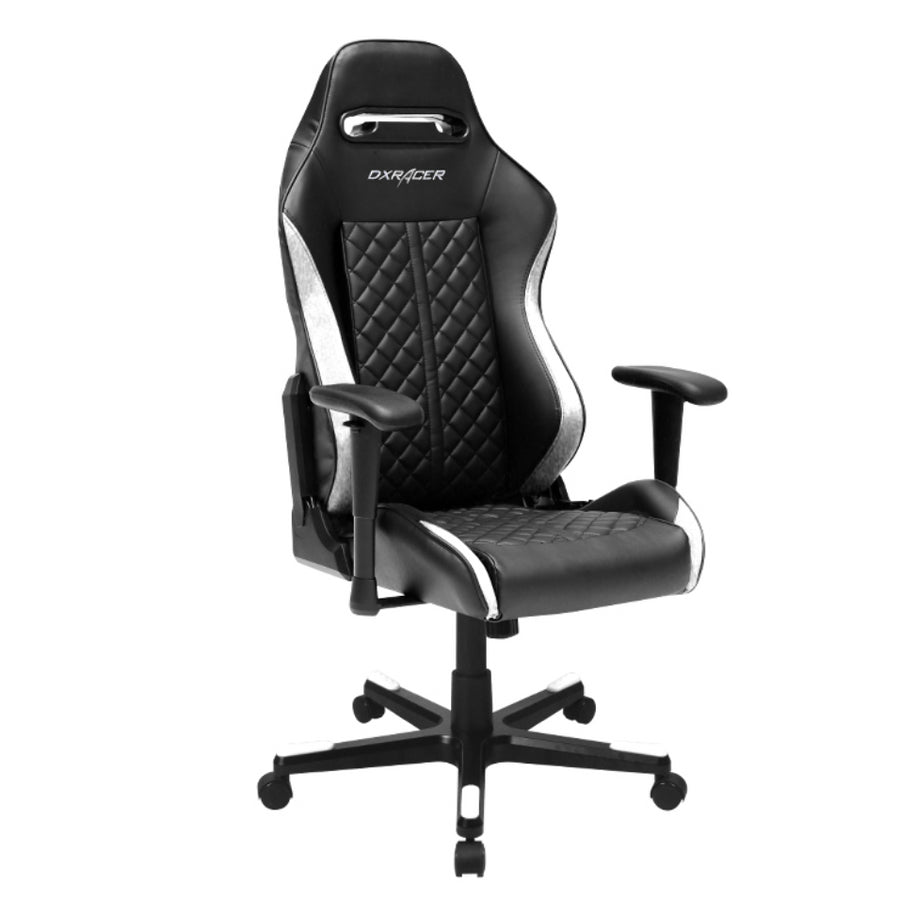 DXRacer OH/DF73/NW White/Black Drifting Series Gaming Chair - Racer Gaming Chairs