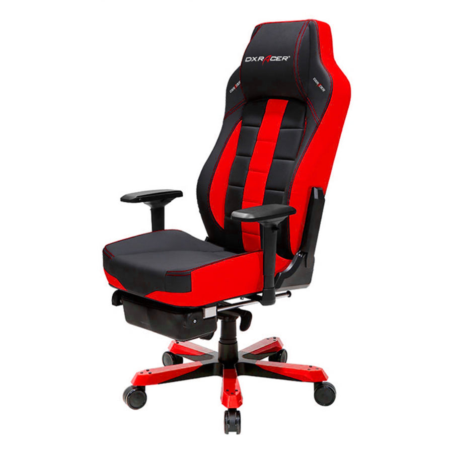 DXRacer OH/CS120/NR/FT Red/Black Classic Series Gaming Chair - Racer Gaming Chairs