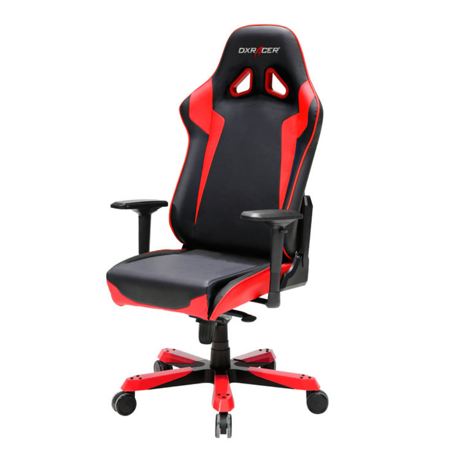 DXRacer OH/SJ00/NR Black/Red Sentinel Series Gaming Chair - Racer Gaming Chairs