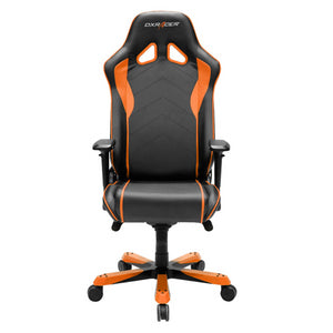 DXRacer OH/SJ08/NO Black/Orange Sentinel Series Gaming Chair - Racer Gaming Chairs