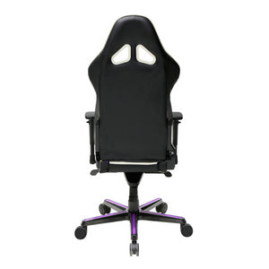 DXRacer OH/RH110/NWV Black/Blue/Violet Racing Series Gaming Chair - Racer Gaming Chairs
