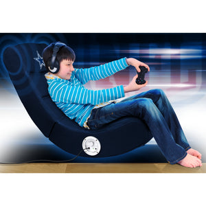 Dallas Cowboys Bluetooth Rocker Gaming Chair - Racer Gaming Chairs
