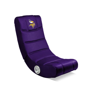 Minnesota Vikings Bluetooth Rocker Gaming Chair - Racer Gaming Chairs