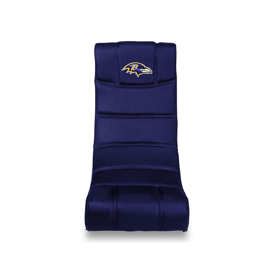 Baltimore Ravens Bluetooth Rocker Gaming Chair - Racer Gaming Chairs