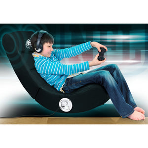 Philadelphia Eagles Bluetooth Rocker Gaming Chair - Racer Gaming Chairs
