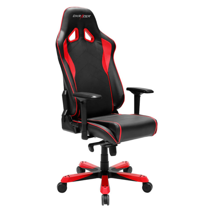 DXRacer OH/SJ08/NR Black/Red Sentinel Series Gaming Chair - Racer Gaming Chairs