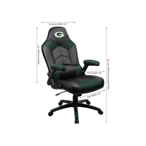 Green Bay Packers Oversized Licensed Gaming Chair - Racer Gaming Chairs