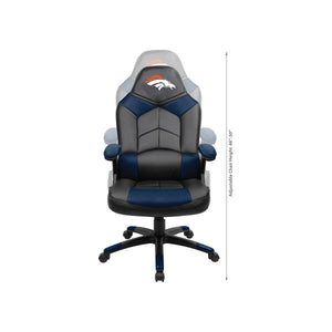 Denver Broncos Oversized Licensed Gaming Chair - Racer Gaming Chairs