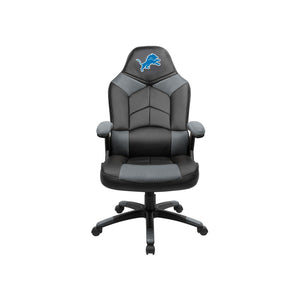 Detroit Lions Oversized Licensed Gaming Chair - Racer Gaming Chairs