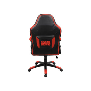 Cleveland Browns Oversized Licensed Gaming Chair - Racer Gaming Chairs