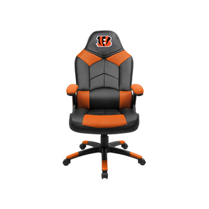 Cincinnati Bengals Oversized Licensed Gaming Chair - Racer Gaming Chairs