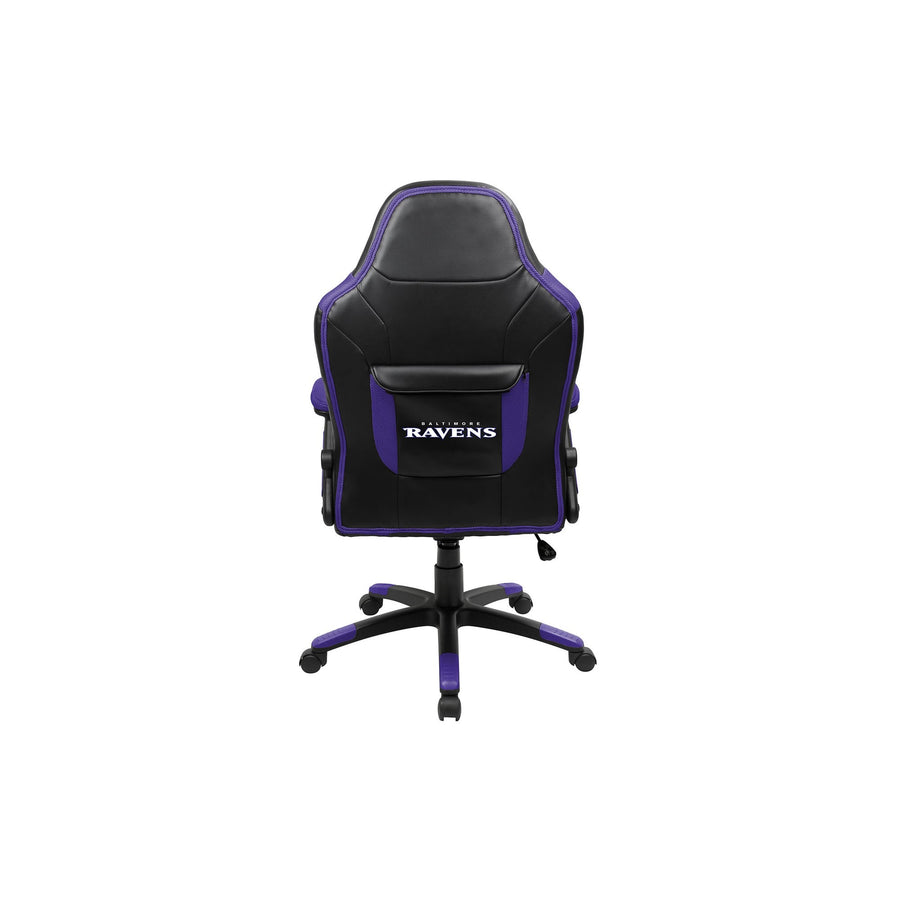 Baltimore Ravens Oversized Licensed Gaming Chair - Racer Gaming Chairs