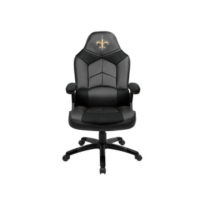 New Orleans Saints Oversized Licensed Gaming Chair - Racer Gaming Chairs