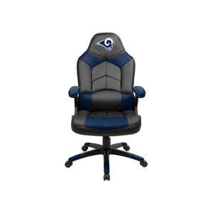 Los Angeles Rams Oversized Licensed Gaming Chair - Racer Gaming Chairs