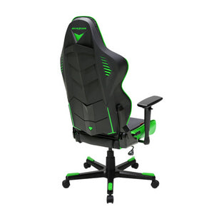 DXRacer OH/RB1/NE Black/Green Racing Series Gaming Chair - Racer Gaming Chairs