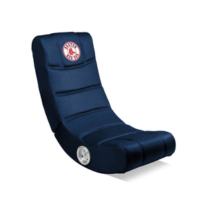 Boston Red Sox Bluetooth Rocker Gaming Chair - Racer Gaming Chairs