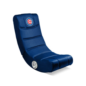 Chicago Cubs Bluetooth Rocker Gaming Chair - Racer Gaming Chairs