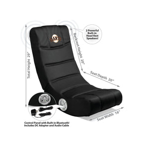 San Francisco Giants Bluetooth Rocker Gaming Chair - Racer Gaming Chairs